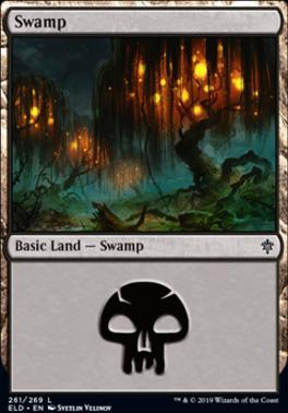 Throne of Eldraine: Swamp (261 D)