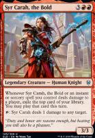 Throne of Eldraine Foil: Syr Carah, the Bold