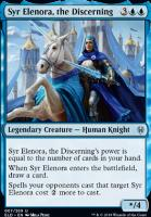 Throne of Eldraine Foil: Syr Elenora, the Discerning