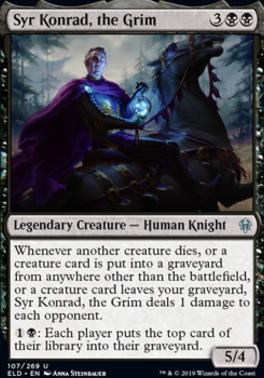 Throne of Eldraine: Syr Konrad, the Grim