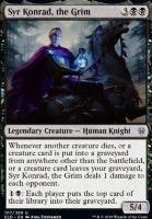 Throne of Eldraine Foil: Syr Konrad, the Grim