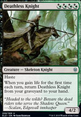Throne of Eldraine: Deathless Knight