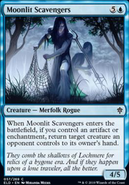 Throne of Eldraine: Moonlit Scavengers