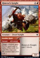 Throne of Eldraine: Rimrock Knight