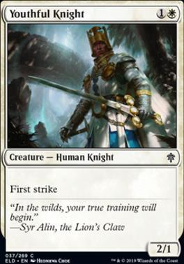 Throne of Eldraine: Youthful Knight