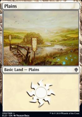 Throne of Eldraine: Plains (250 A)
