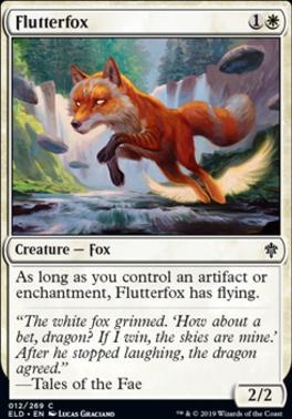 Throne of Eldraine: Flutterfox