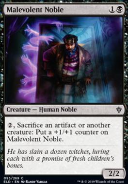 Throne of Eldraine: Malevolent Noble