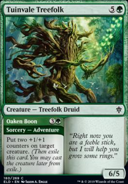 Throne of Eldraine: Tuinvale Treefolk