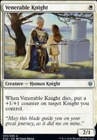 Throne of Eldraine Foil: Venerable Knight