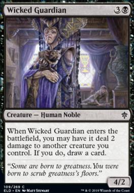 Throne of Eldraine: Wicked Guardian