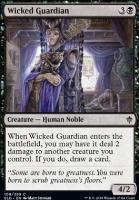 Throne of Eldraine Foil: Wicked Guardian