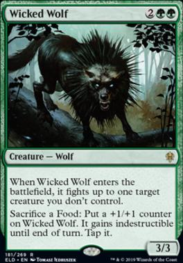 Throne of Eldraine: Wicked Wolf