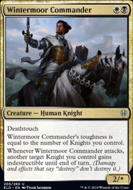Throne of Eldraine: Wintermoor Commander