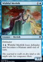 Throne of Eldraine Foil: Wishful Merfolk