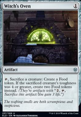 Throne of Eldraine: Witch's Oven