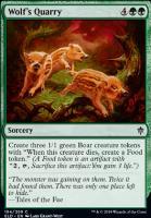 Throne of Eldraine Foil: Wolf's Quarry