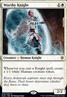 Throne of Eldraine: Worthy Knight