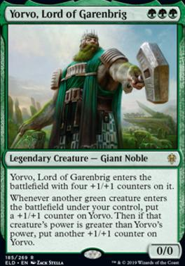 Throne of Eldraine: Yorvo, Lord of Garenbrig