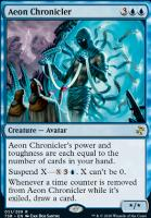 Time Spiral Remastered Foil: Aeon Chronicler