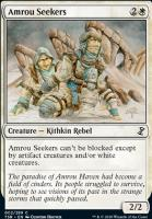 Time Spiral Remastered Foil: Amrou Seekers