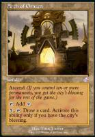 Time Spiral Remastered Foil: Arch of Orazca