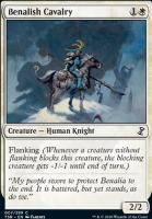 Time Spiral Remastered Foil: Benalish Cavalry