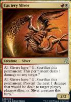 Time Spiral Remastered Foil: Cautery Sliver