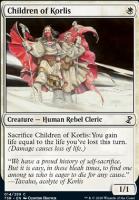 Time Spiral Remastered Foil: Children of Korlis