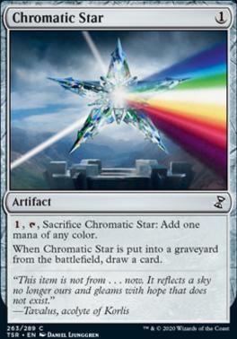 Time Spiral Remastered Foil: Chromatic Star