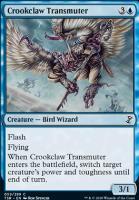 Time Spiral Remastered Foil: Crookclaw Transmuter
