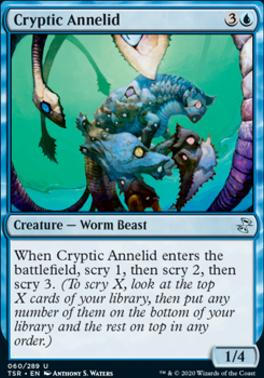 Time Spiral Remastered Foil: Cryptic Annelid