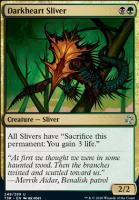 Time Spiral Remastered Foil: Darkheart Sliver
