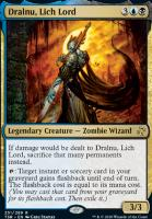 Time Spiral Remastered Foil: Dralnu, Lich Lord