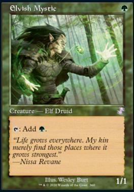 Time Spiral Remastered: Elvish Mystic