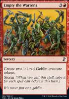 Time Spiral Remastered Foil: Empty the Warrens