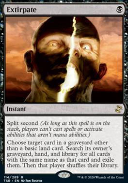 Time Spiral Remastered Foil: Extirpate