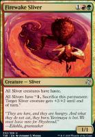 Time Spiral Remastered Foil: Firewake Sliver
