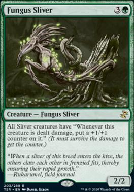 Time Spiral Remastered Foil: Fungus Sliver