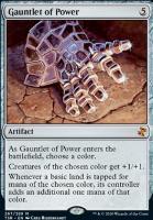Time Spiral Remastered Foil: Gauntlet of Power
