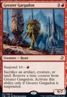 Time Spiral Remastered Foil: Greater Gargadon