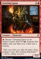 Time Spiral Remastered Foil: Grinning Ignus