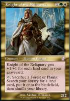 Time Spiral Remastered Foil: Knight of the Reliquary