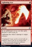 Time Spiral Remastered Foil: Lightning Axe