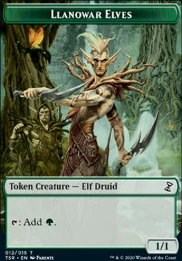 Time Spiral Remastered: Llanowar Elves Token