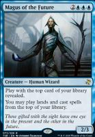 Time Spiral Remastered Foil: Magus of the Future