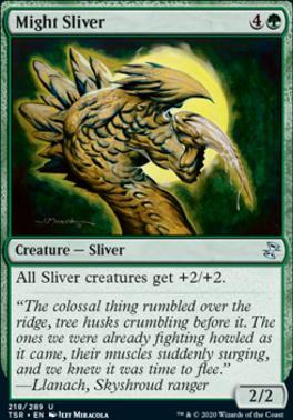 Time Spiral Remastered Foil: Might Sliver