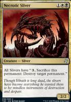 Time Spiral Remastered Foil: Necrotic Sliver