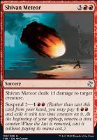 Time Spiral Remastered Foil: Shivan Meteor