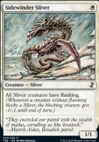 Time Spiral Remastered Foil: Sidewinder Sliver
